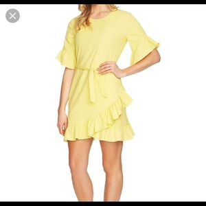 1 State yellow dress